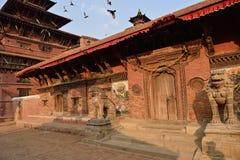 Patan durbar square Stock Photos