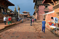 Patan Durbar square, Nepal Stock Images