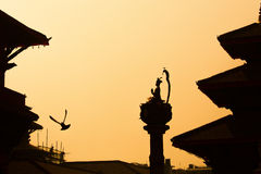 Patan Durbar Square is one of the three Durbar Squares in the Ka Stock Images