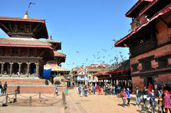 Patan Durbar Square Royalty Free Stock Photography