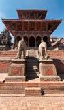Patan durbar square Stock Image