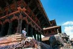 Patan - il Nepal immagine stock libera da diritti