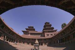 patan kunglig person för nepal slott Arkivfoton