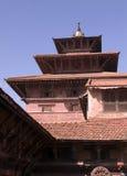 patan kunglig person för nepal slott arkivbilder