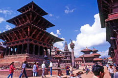 Patan - le Népal Photos stock