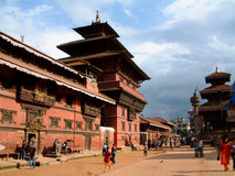 Patan Museum and Durbar Square, Patan (Lalitpur), Nepal Stock Images