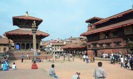 Patan, Népal Images libres de droits