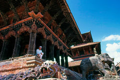 Patan - Nepal royaltyfri bild