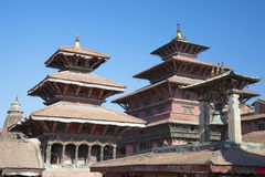 patan Nepal durbar kwadrat Obrazy Royalty Free