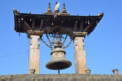 Patan, Nepal, sino ritual antigo no quadrado de Durbar fotos de stock royalty free