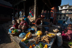 Patan Palace Square corner Royalty Free Stock Image