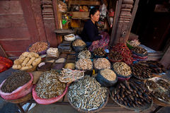 Patan Palace Square corner Royalty Free Stock Images