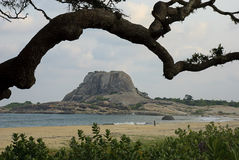 Patanangala岩石 库存图片