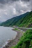 Patapat桥梁Pagudpud菲律宾 图库摄影