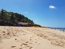 Patar plaża Bolinao Pangasinan Zdjęcie Stock