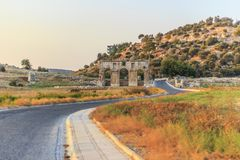 Patara Ancient City Gate Royalty Free Stock Images