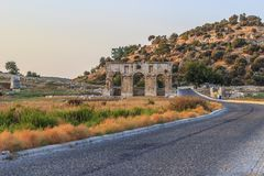 Patara Ancient City Gate Royalty Free Stock Image