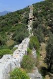Patara aquaduct Royalty Free Stock Images