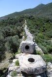 Patara aqueduct Royalty Free Stock Photos