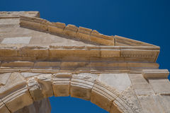Patara Archaelogical plats Arkivfoton