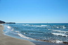Patara Beach Sea Stock Photo