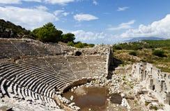 Patara ruiny, Lycia, Turcja zdjęcia royalty free