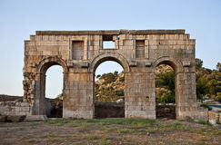 Patara, Turkey. Patara (Lycian: Pttara), later renamed Arsinoe (Greek: Ἀρσινόη), was a flourishing maritime and commercial city on the south-west coast Stock Images