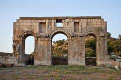 Patara Turkiet arkivbilder