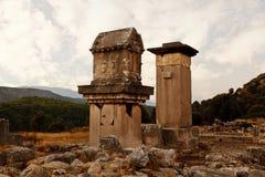 Patara, Xanthos, Antalya obrazy stock