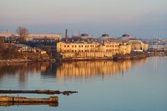 Patarei denny forteczny więzienie w Tallinn Zdjęcie Stock