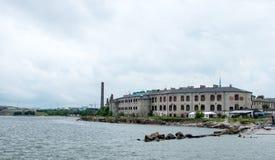 Patarei, prisión de la fortaleza del mar Imagen de archivo libre de regalías
