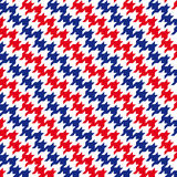 Patas de gallo 02 (vector). Repeating vector houndstooth pattern modern Royalty Free Stock Images