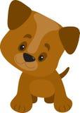 Patas grandes del perrito stock de ilustración