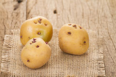 Patata amarilla Fotografía de archivo