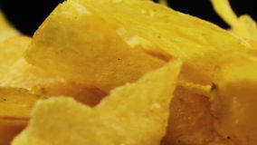Patata Chips Rotating almacen de video