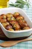 Patata cocida al horno Imagenes de archivo