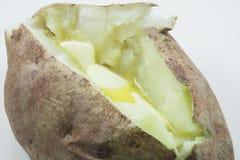 Patata cocida al horno imagen de archivo libre de regalías