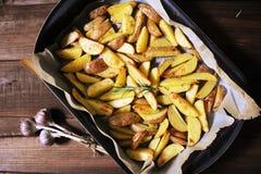 Patata cocida al horno fotografía de archivo libre de regalías