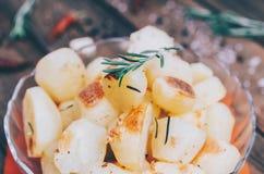 Patata con i rosmarini Fotografia Stock Libera da Diritti
