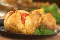 Patata cotta Fotografia Stock