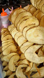 Patata deliciosa de Fried Twist Fotografía de archivo libre de regalías