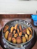 Patata dolce dell'arrosto Fotografia Stock Libera da Diritti