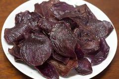 Patata dolce viola Fotografia Stock Libera da Diritti
