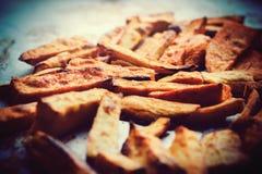 Patata dulce asada imagen de archivo libre de regalías