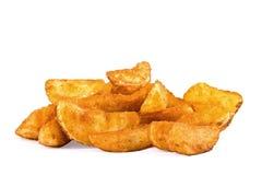 Patata frita de una manera rural Foto de archivo libre de regalías