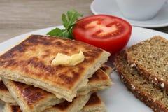 Patata irlandese Farls Fotografia Stock