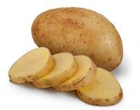 Patata rebanada Imagen de archivo libre de regalías