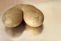 Patata sconosciuta Immagine Stock