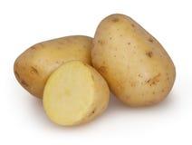 Patatas aisladas en el fondo blanco Fotografía de archivo