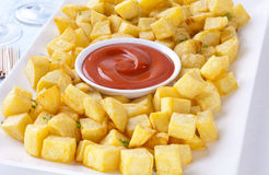Patatas Bravas Royalty Free Stock Photography